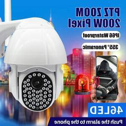 Wireless Security Camera WiFi 355 Degree with Cloud Storage