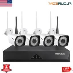 Wireless WIFI 1080P Security Camera 8CH NVR In/Outdoor IP Ca