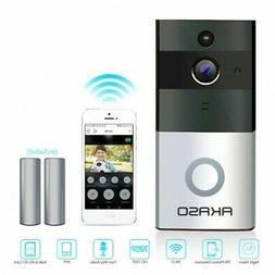 Wireless WiFi Video Doorbell Smart Phone Door Ring Intercom