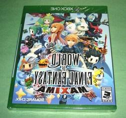 World of Final Fantasy Maxima - Xbox One XB1 - New Sealed w/