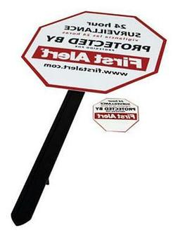 First Alert YS-1 Video Security Surveillance Yard Sign